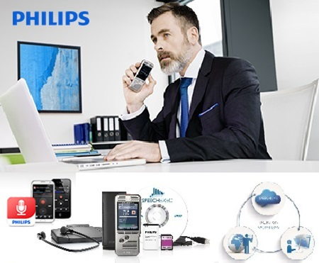 Philips, Dictation Workflow, Cloud, Speech Live, Speech Scribe
